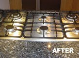 After our oven cleaning service