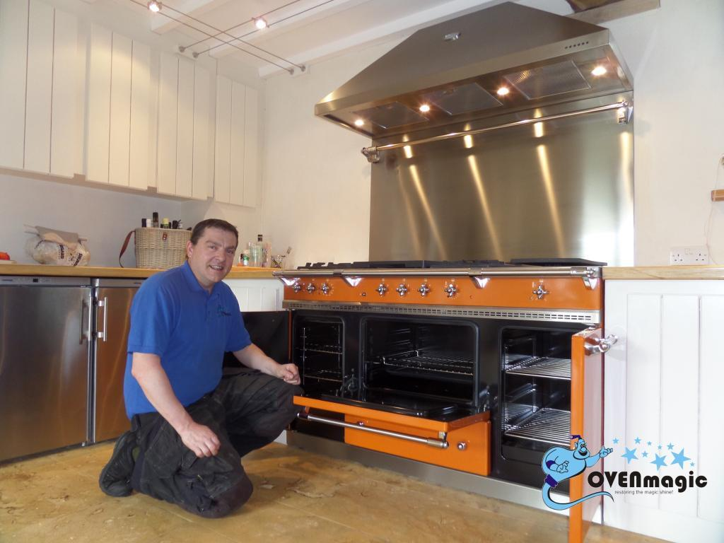 Range Oven Cleaning By Ovenmagic