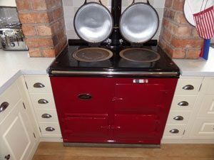 Aga with 2 ovens cleaned by OvenMagic