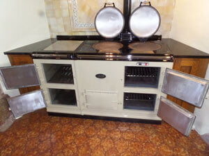Aga With 4 Ovens Cleaned By Ovenmagic