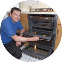 Oven Cleaning with OvenMagic in Worcester