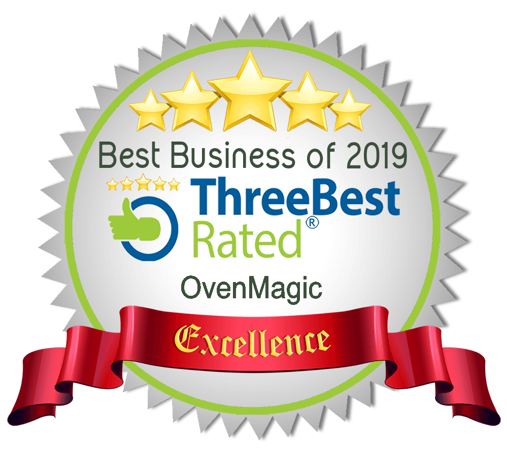 Rated in the top three oven cleaning services in Worcester